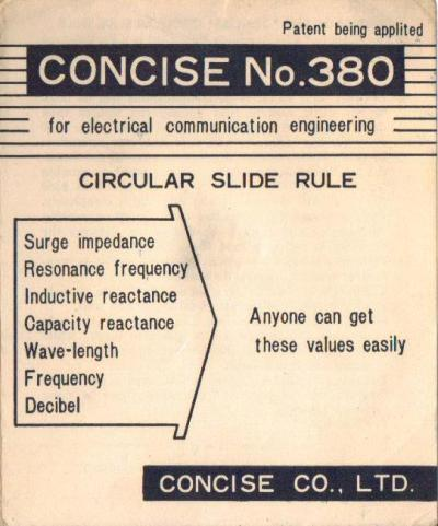aristo slide rule instructions