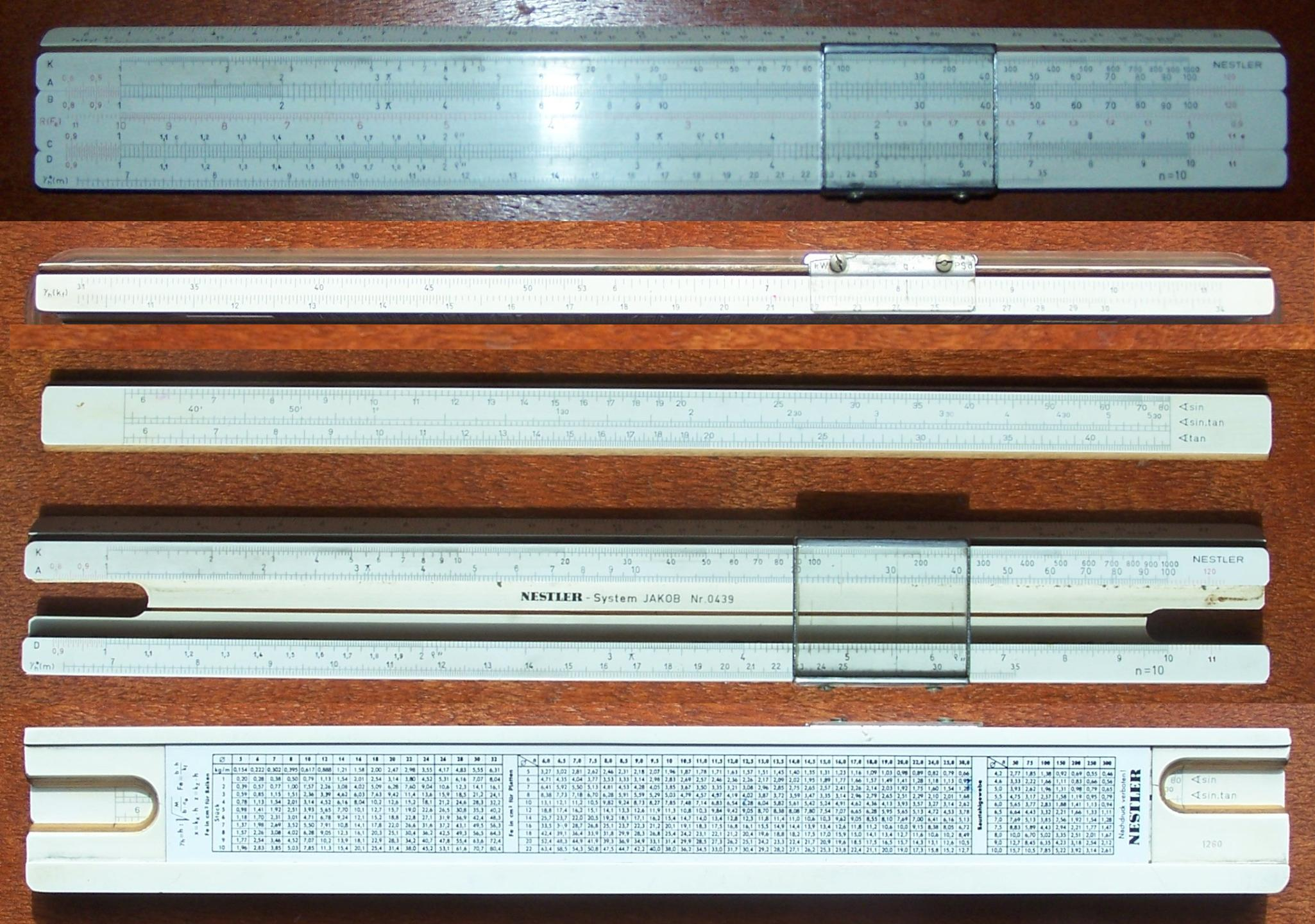 dating nestler slide rules