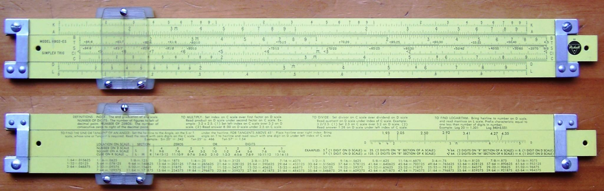 dating pickett slide rules Anyone remember the scene from the movie dr strangelove where the named doctor gets no, i haven't is it about slide rules in general or the k&e, pickett.